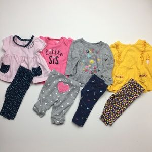 Bundle Carter's Baby Girl Outfits
